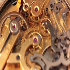 The Mechanism Of A Pocket Watch 6 Stock Footage
