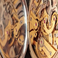 Pocket Watch Movement Chronometer Stock Footage