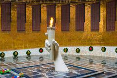 Volgograd, Russia - November 2.2016. The eternal flame in Hall of Military Glory Kuvituskuvat