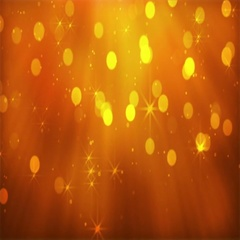 Golden Glitters Abstract Background Stock Footage