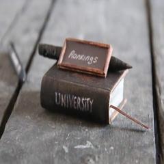 University rankings idea Stock Footage