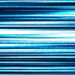 Blue Lines of Light Technology Abstract Background Stock Footage