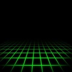 80s Digital Background Green Arkistovideo