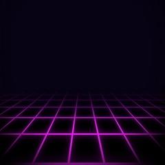 80s Digital Background Purple Arkistovideo