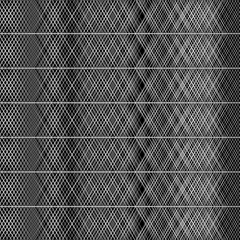 Seamless graphic background with geometric pattern - 10 - on black (FULL HD) Stock Footage