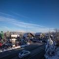4k Traffic time-lapse snowy winter location Torfhaus Harz mountain range 4k or 4k+ Resolution