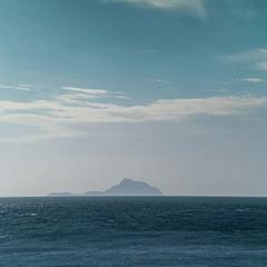 Timelapse of the Racha Yai tropical island from the Phromthep cape, Thailand. Stock Footage