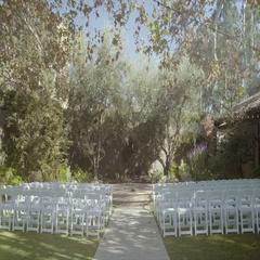 4K UHD Wedding Stage Stock Footage