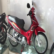New honda motorbikes Stock Footage