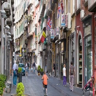 Naples Italy International Street Scene Stock Footage