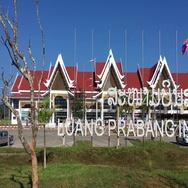 Luangprabang int airport Stock Footage