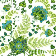 Elegance Colorful texture for decorating background. Seamless pattern with of Stock Illustration