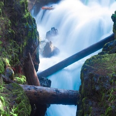 Rogue River Timelapse Stock Footage