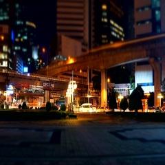 Time Lapse Silom junction at Bangkok, Thailand Stock Footage