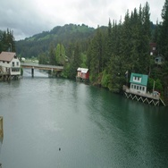 Seldovia Alaska Tide Fast Time Lapse 4K Stock Footage