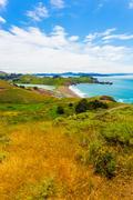Marin headlands fort cronkhite rodea beach Stock Photos