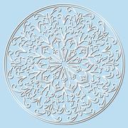 Decorative element mandala Stock Illustration