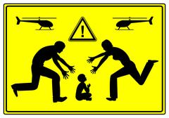 Helicopter Parents Stock Illustration