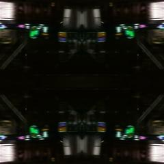 Kaleidoscopic street lights - Street Lights Kaleido 06 HD, 4K Stock Video Stock Footage