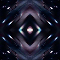 Kaleidoscopic street lights - Street Lights Kaleido 08 HD, 4K Stock Video Stock Footage
