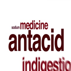 Antacid animated word cloud. Stock Footage