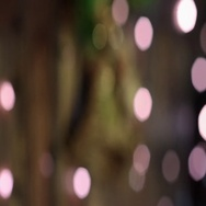 Abstract bokeh background. Christmas bokeh lights refocused blurred background. Stock Footage