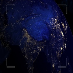 Planet Intro. DUBAI. UAE. Stock Footage