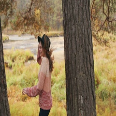 Girls play tag in the autumn forest. Girls have fun and laughing Stock Footage