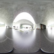 360VR video at Xiangshan visitor center Stock Footage
