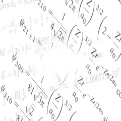 Background of the changing physical formulas Stock Footage