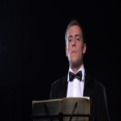 Conductor of orchestra at work, close-up view Stock Footage