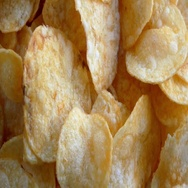 Rotating potato chips Stock Footage