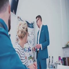 Agency for the organization of a wedding celebration. Experts Stock Footage