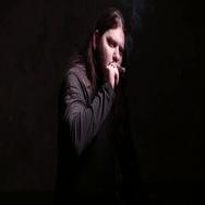 Man smokes cigar. 4K UHD Stock Footage