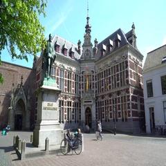 Utrecht University Academy Building - Academiegebouw, the Netherlands in 4K Stock Footage