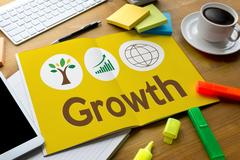 Growth Life Preservation Protection Growth Project About Business Grow Stock Photos