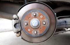 Disk brake Stock Photos