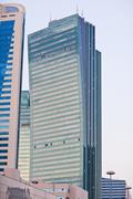 Modern skyscrapers in the Astana city, Kazakhstan Stock Photos