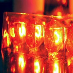 4k amber lightbulbs light bulbs Stock Footage