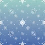 Snowflake pattern tint layer blue sky color background Stock Illustration
