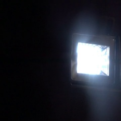 Flashing moving light blink blinking Stock Footage
