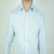 Salesman, Writing On Transparent Screen Stock Footage