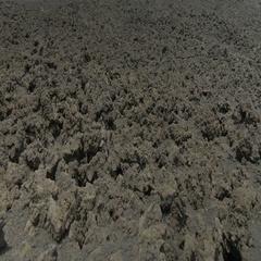 Lunar landscape on Summit Crater of Etna volcano Stock Footage