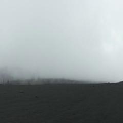 Car trip through lunar landscape of Etna volcano Stock Footage