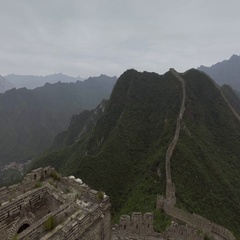 The Great Wall of China Stock Footage
