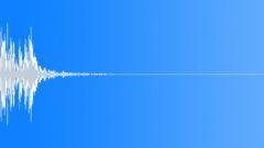 Drop Plastic Bucket 02 Sound Effect
