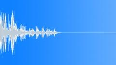 Drop Plastic Bucket 01 Sound Effect
