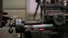 Manufacture of metal products Stock Footage