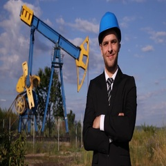 Handsome Business Man Smiling Looking Camera Optimistic Oil Pump Entrepreneur Stock Footage