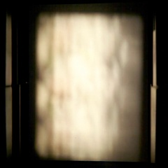 Flickering film projector broken Stock Footage